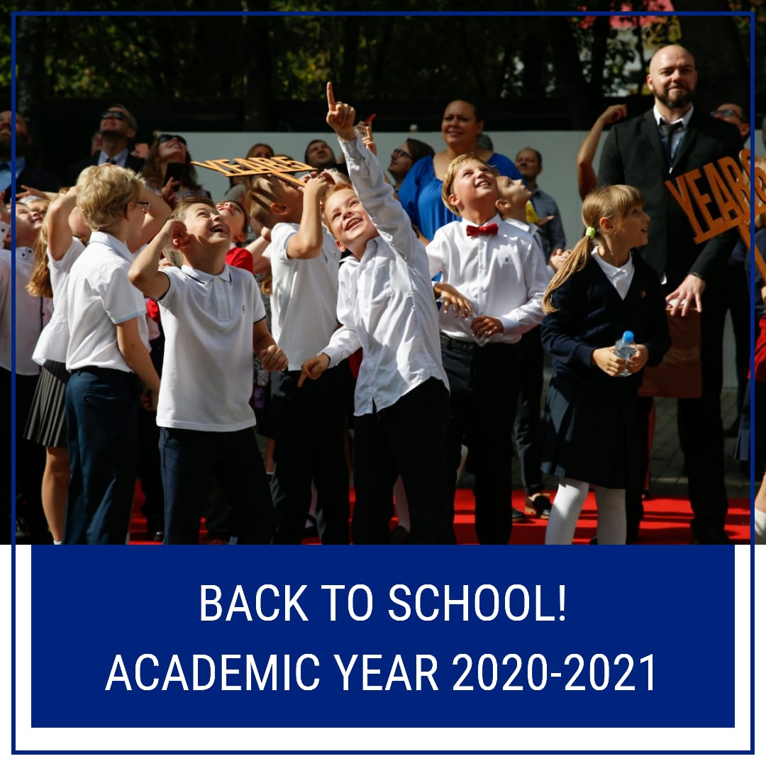 Back to school! Academic year 2020-2021