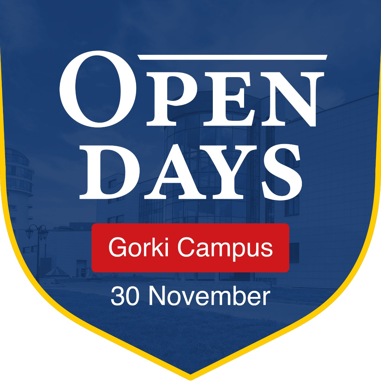 Welcome to Open day in Gorki campus