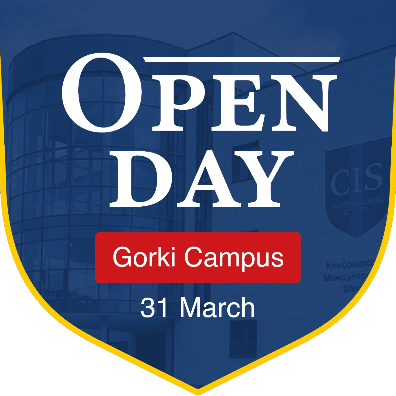 Welcome to Open day at CIS Gorki