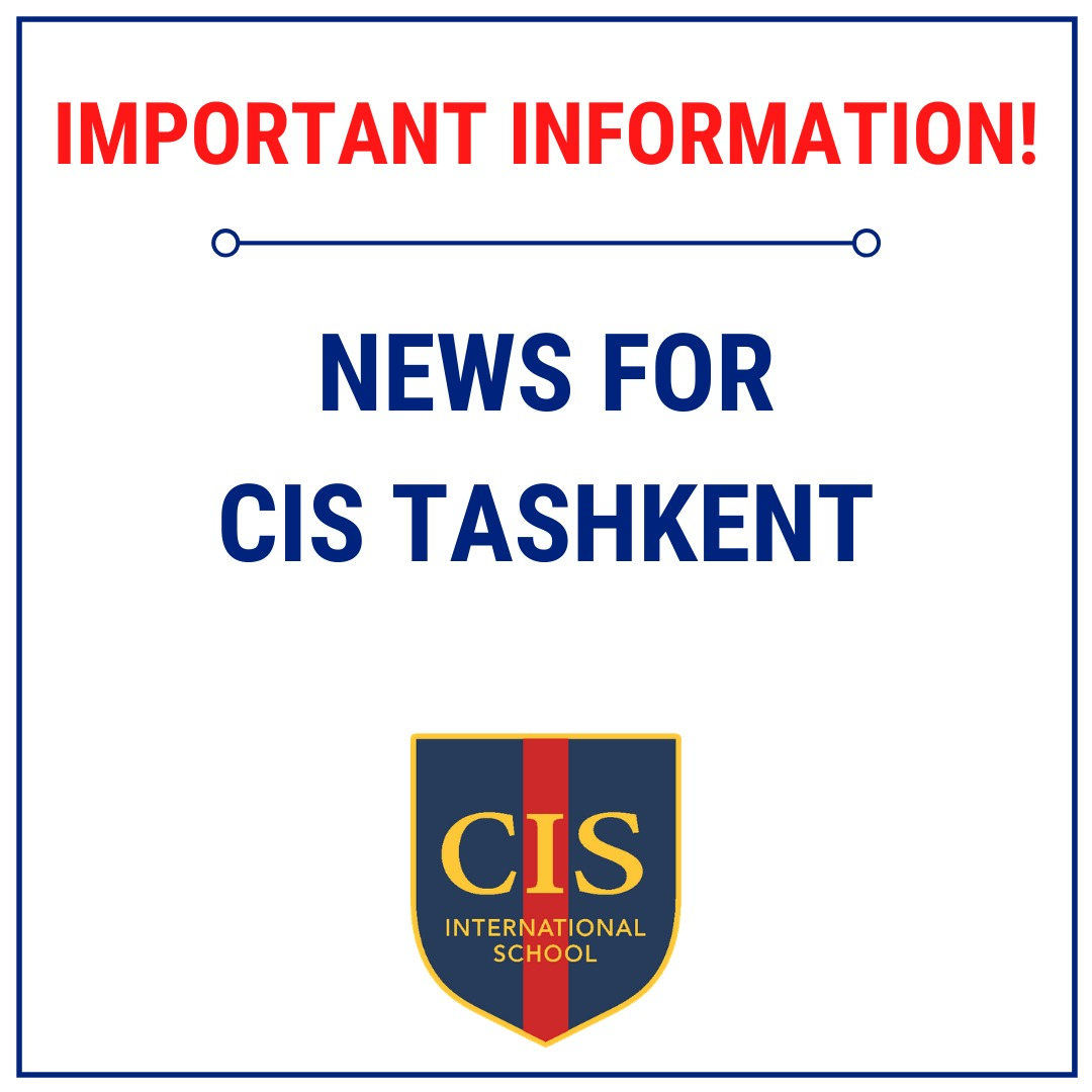 Tashkent news: all schools must close for from Monday 16th March 2020.